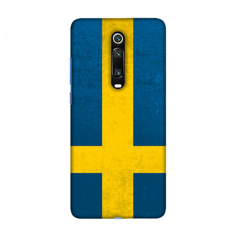 Football - Love For Sweden Slim Hard Shell Case For Redmi K20/K20 Pro