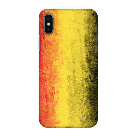 Love For Germany Slim Hard Shell Case For Apple iPhone X