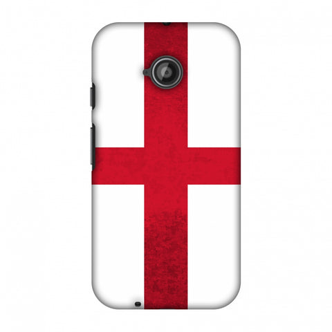 Love For England Slim Hard Shell Case For Motorola Moto E 2nd Gen
