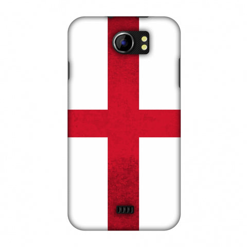 Love For England Slim Hard Shell Case For Micromax Canvas 2 A110