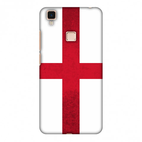 Love For England Slim Hard Shell Case For Vivo V3 Max