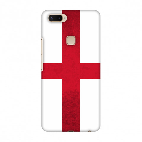 Love For England Slim Hard Shell Case For Vivo X20 Plus