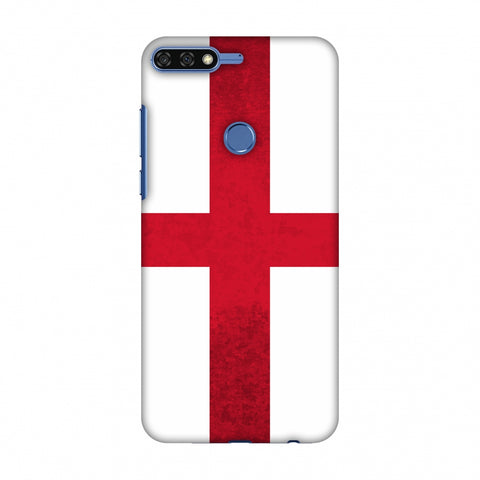 Love For England Slim Hard Shell Case For Huawei Honor 7C