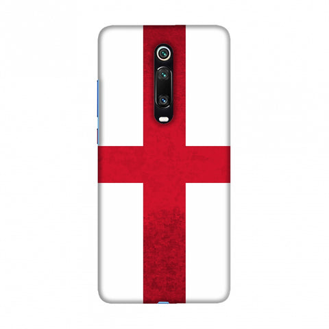 Football - Love For EnglAnd Slim Hard Shell Case For Redmi K20/K20 Pro