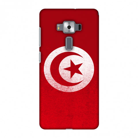 Love For Tunisia Slim Hard Shell Case For Asus Zenfone 3 Deluxe ZS570KL