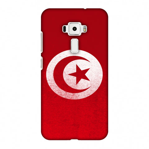 Love For Tunisia Slim Hard Shell Case For Asus Zenfone 3 ZE520KL