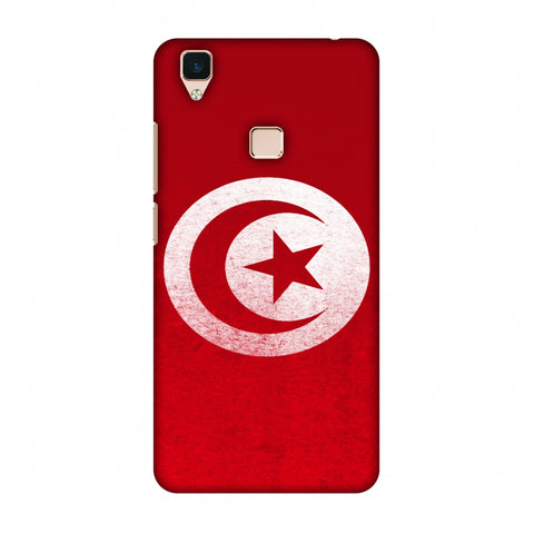 Love For Tunisia Slim Hard Shell Case For Vivo V3