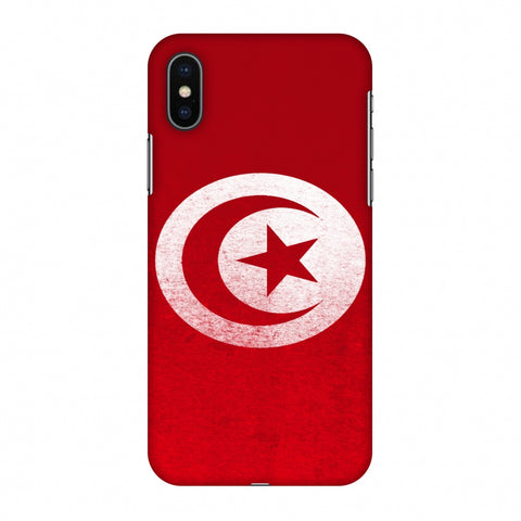 Love For Tunisia Slim Hard Shell Case For Apple iPhone X