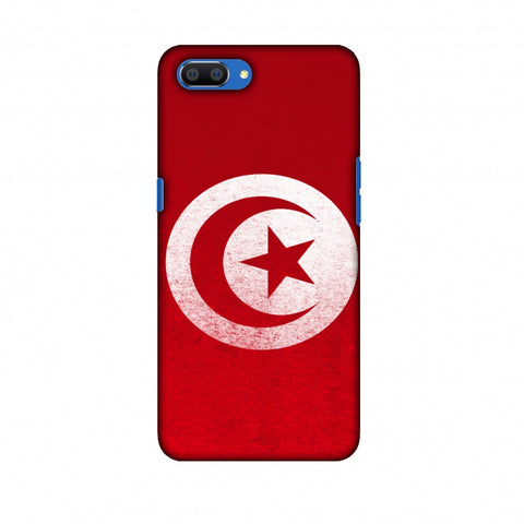 Love For Tunisia Slim Hard Shell Case For Oppo Realme C1