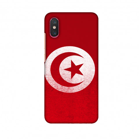 Love For Tunisia Slim Hard Shell Case For Xiaomi Mi 8 Pro