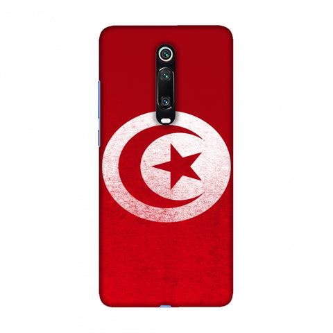 Football - Love For Tunisia Slim Hard Shell Case For Redmi K20/K20 Pro
