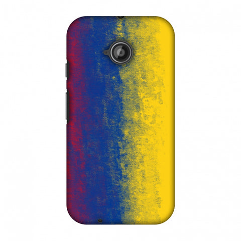 Love For Colombia Slim Hard Shell Case For Motorola Moto E 2nd Gen