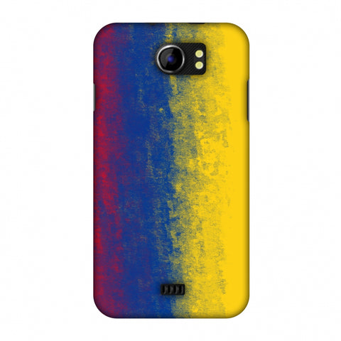 Love For Colombia Slim Hard Shell Case For Micromax Canvas 2 A110