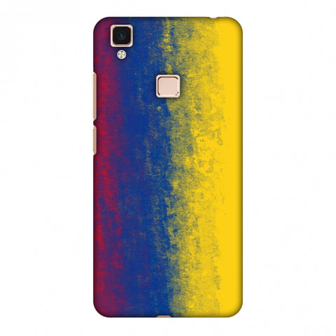 Love For Colombia Slim Hard Shell Case For Vivo V3 Max