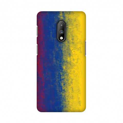 Soccer - Love For Colombia Slim Hard Shell Case For OnePlus 7