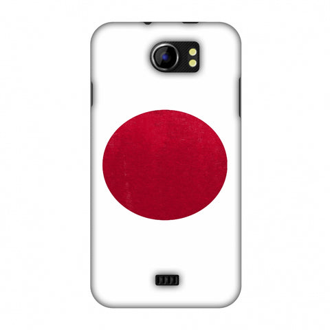 Love For Japan Slim Hard Shell Case For Micromax Canvas 2 A110