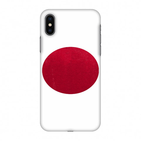 Love For Japan Slim Hard Shell Case For Apple iPhone X