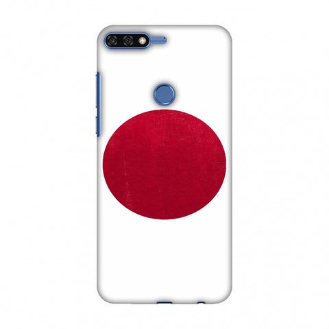 Love For Japan Slim Hard Shell Case For Huawei Honor 7C