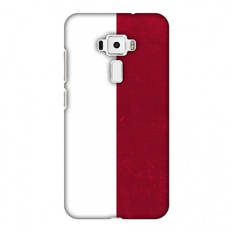 Love For Poland Slim Hard Shell Case For Asus Zenfone 3 ZE520KL
