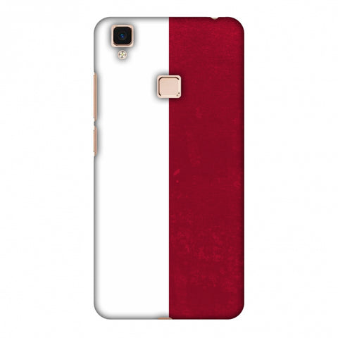 Love For Poland Slim Hard Shell Case For Vivo V3 Max
