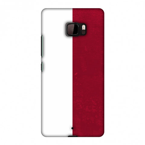 Love For Poland Slim Hard Shell Case For HTC U Ultra