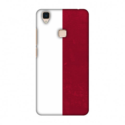 Love For Poland Slim Hard Shell Case For Vivo V3