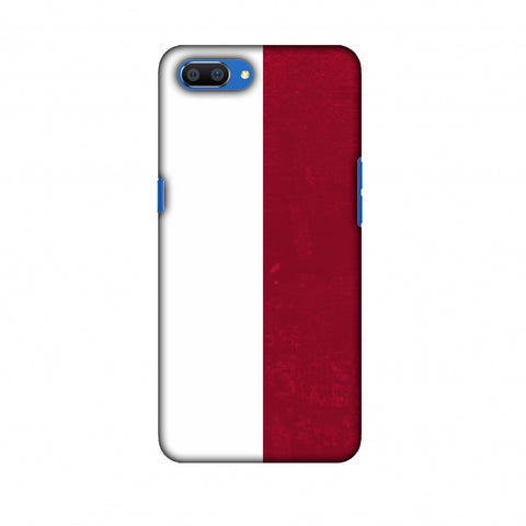 Love For Poland Slim Hard Shell Case For Oppo Realme C1