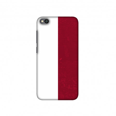 Football - Love For PolAnd Slim Hard Shell Case For Redmi Go