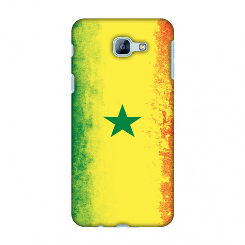 Love For Senegal Slim Hard Shell Case For Samsung Galaxy A8 2016