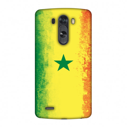 Love For Senegal Slim Hard Shell Case For LG G4