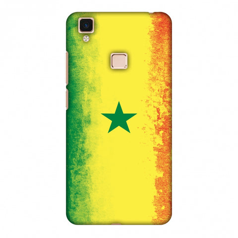 Love For Senegal Slim Hard Shell Case For Vivo V3 Max