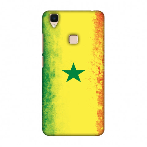 Love For Senegal Slim Hard Shell Case For Vivo V3