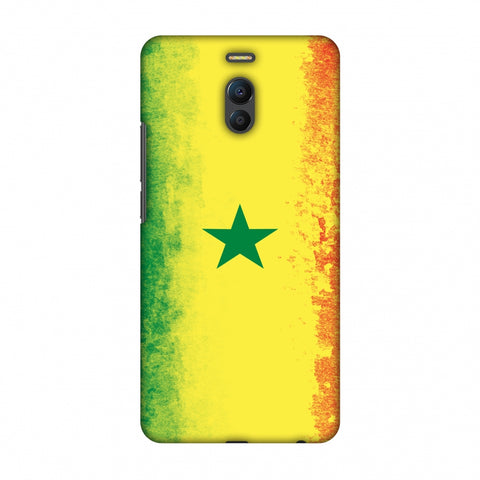 Love For Senegal Slim Hard Shell Case For Meizu Note 6