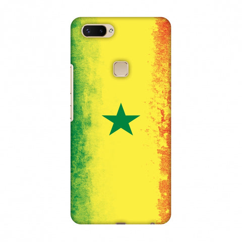 Love For Senegal Slim Hard Shell Case For Vivo X20 Plus