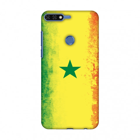 Love For Senegal Slim Hard Shell Case For Huawei Honor 7C