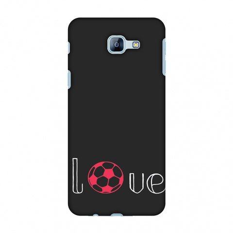 Football - Love Football - Grey And Pink Slim Hard Shell Case For Samsung Galaxy A8 2016
