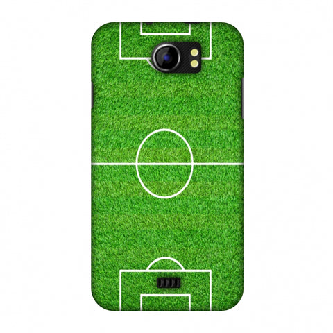 Football - Love Football - Soccer Ground Slim Hard Shell Case For Micromax Canvas 2 A110