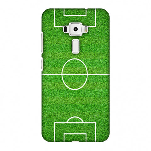 Football - Love Football - Soccer Ground Slim Hard Shell Case For Asus Zenfone 3 ZE520KL