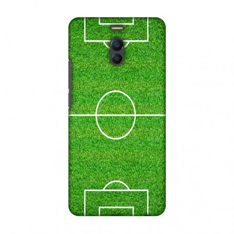 Football - Love Football - Soccer Ground Slim Hard Shell Case For Meizu Note 6