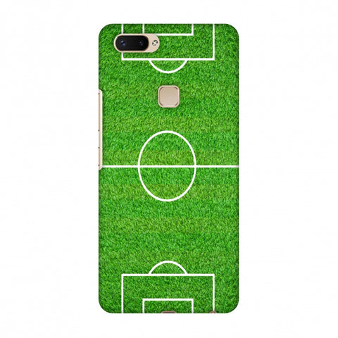 Football - Love Football - Soccer Ground Slim Hard Shell Case For Vivo X20 Plus