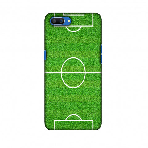 Football - Love Football - Soccer Ground Slim Hard Shell Case For Oppo Realme C1