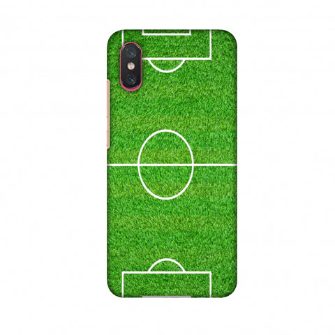 Football - Love Football - Soccer Ground Slim Hard Shell Case For Xiaomi Mi 8 Pro