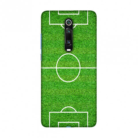 Football - Love Football - Soccer Ground Slim Hard Shell Case For Redmi K20/K20 Pro
