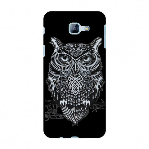 Graphic Owl Slim Hard Shell Case For Samsung Galaxy A8 2016
