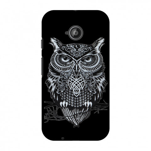 Graphic Owl Slim Hard Shell Case For Motorola Moto E 2nd Gen