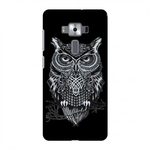 Graphic Owl Slim Hard Shell Case For Asus Zenfone 3 Deluxe ZS570KL