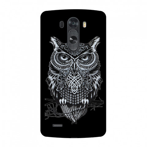 Graphic Owl Slim Hard Shell Case For LG G4