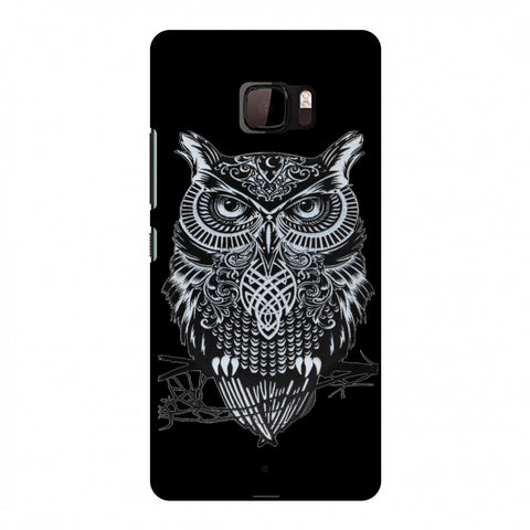 Graphic Owl Slim Hard Shell Case For HTC U Ultra