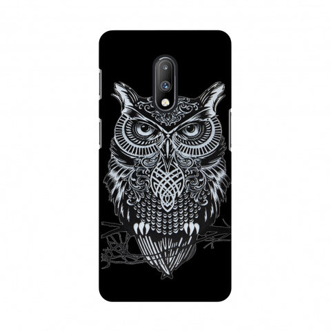 Graphic Owl Slim Hard Shell Case For OnePlus 7