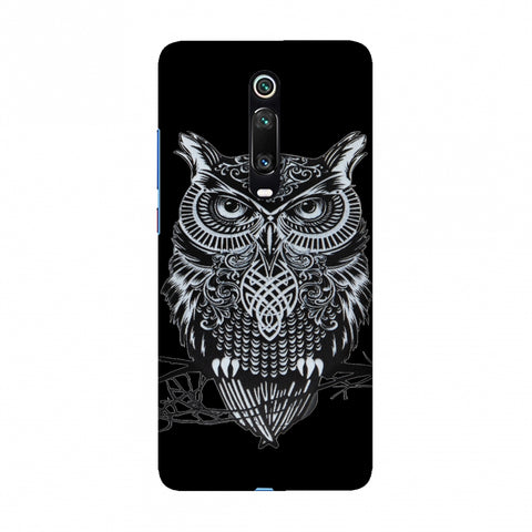 Graphic Owl Slim Hard Shell Case For Redmi K20/K20 Pro